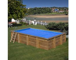 Cover for rectangular pools